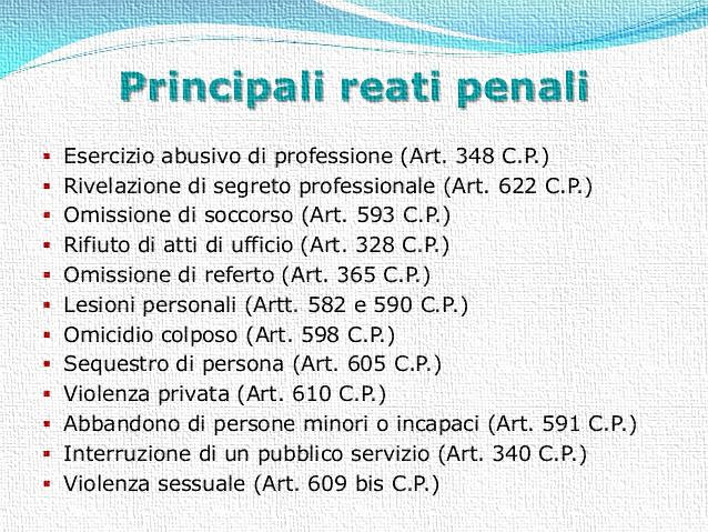 Reati 1